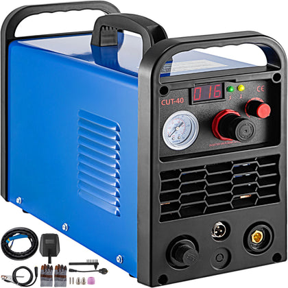 40a Amp Air Plasma Cutter Cut-40 Portable Inverter Cutting Machine Max 12mm 220v