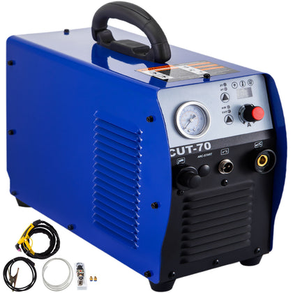 Cut-70 Air Plasma Cutter Machine Inverter Cutter Touch Pilot Arc 110-220v 70a