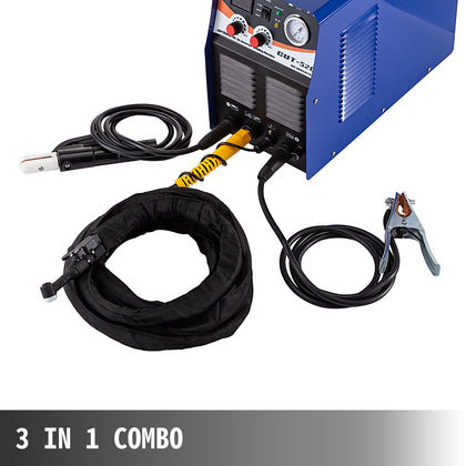 3 In 1 Tig Welder Plasma Cutter Ct520d Tig Stick Mma Arc Welder Welding Machine