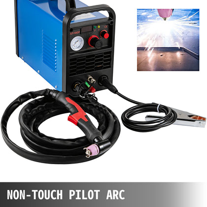 50a Air Plasma Cutter Cutting Machine Non-touch Pilot Arc Cutter Inverter 220v