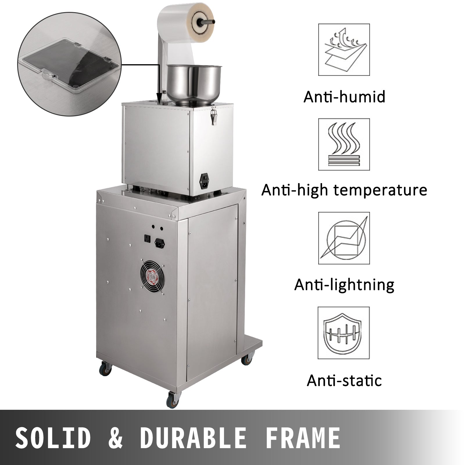 Powder Packing Machine Powder Filling Machine 1-200g Particle Filling Machine