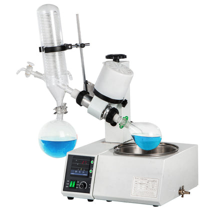 2l rotary Evaporator Set With Auto Lift For Evaporation 120rpm/min 0-99 °c