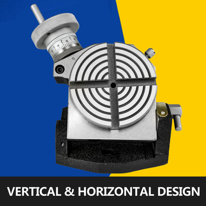 Rotary Table Horizontal Vertical Tilting 4