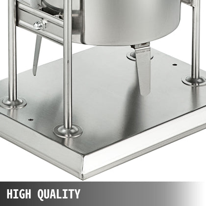 12l Commercial Electric Sausage Filler Stainless Steel Meat Maker Stuffer