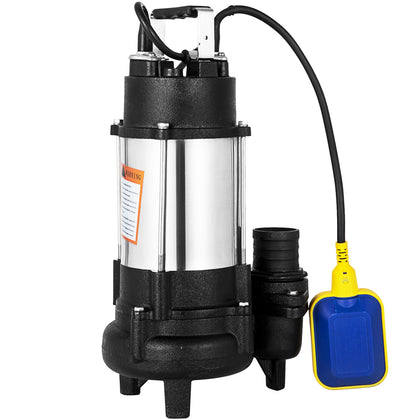 Heavy Duty750w 1hp Submersible Sewage Dirty Water Pump Float Switch 230v