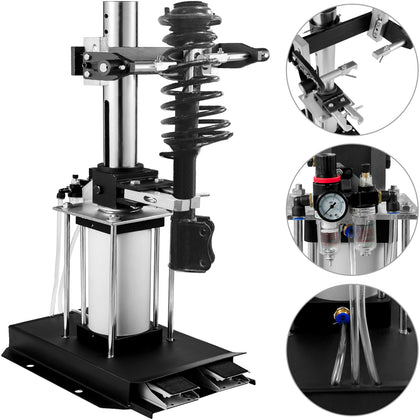 Mechanical Pneumatic 3 Ton Auto Strut Coil Spring Compressor Hydraulic Tool