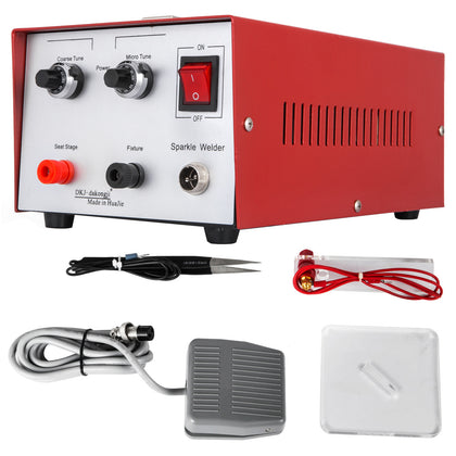 200w Pulse Sparkle Spot Welder Jewelry Gold Silver Platinum Welding Machine 220v