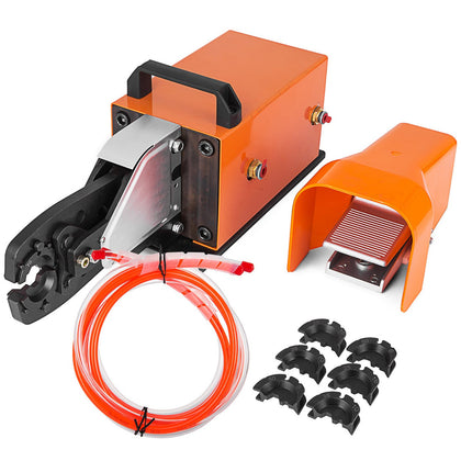 Am-70 Pneumatic Terminal Crimping Machine 2t Crimping Tool Cable Lugs Tool Set