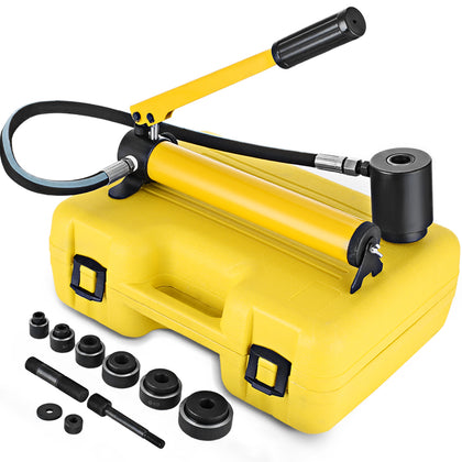 10 Ton Hydraulic Knockout Punch Holesaw Set