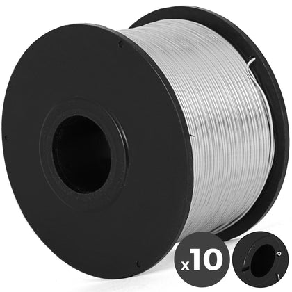0.8mm Tie Wire 10 Reels Durable Industrial Anti-oxidationindustrial Rebar Tier