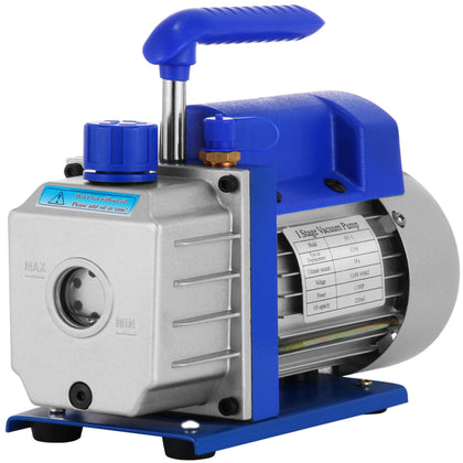 3cfm 1/3hp Refrigerant Rotary Vane Vacuum Pump A/c Vacuum Evacuation Pump Uk R134a 1720rpm One Stage