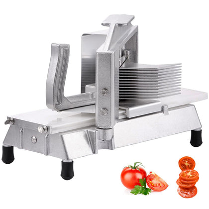 Manual Tomato Slicer With 3/16 Scalloped Blade Vegetable Stainless Steel Cast