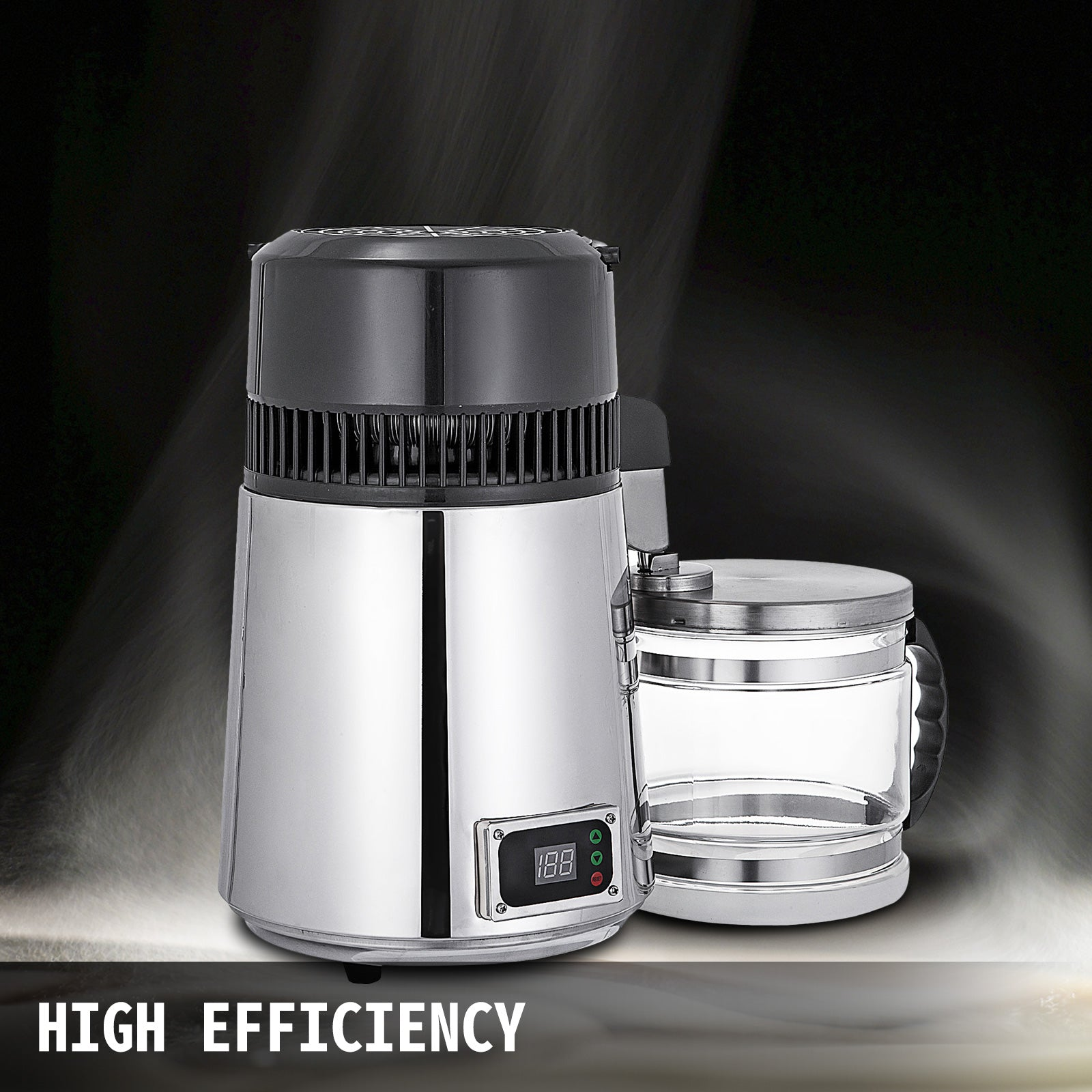 4l Water Distiller Temperature Controlled Distilled Purified Dental Filer