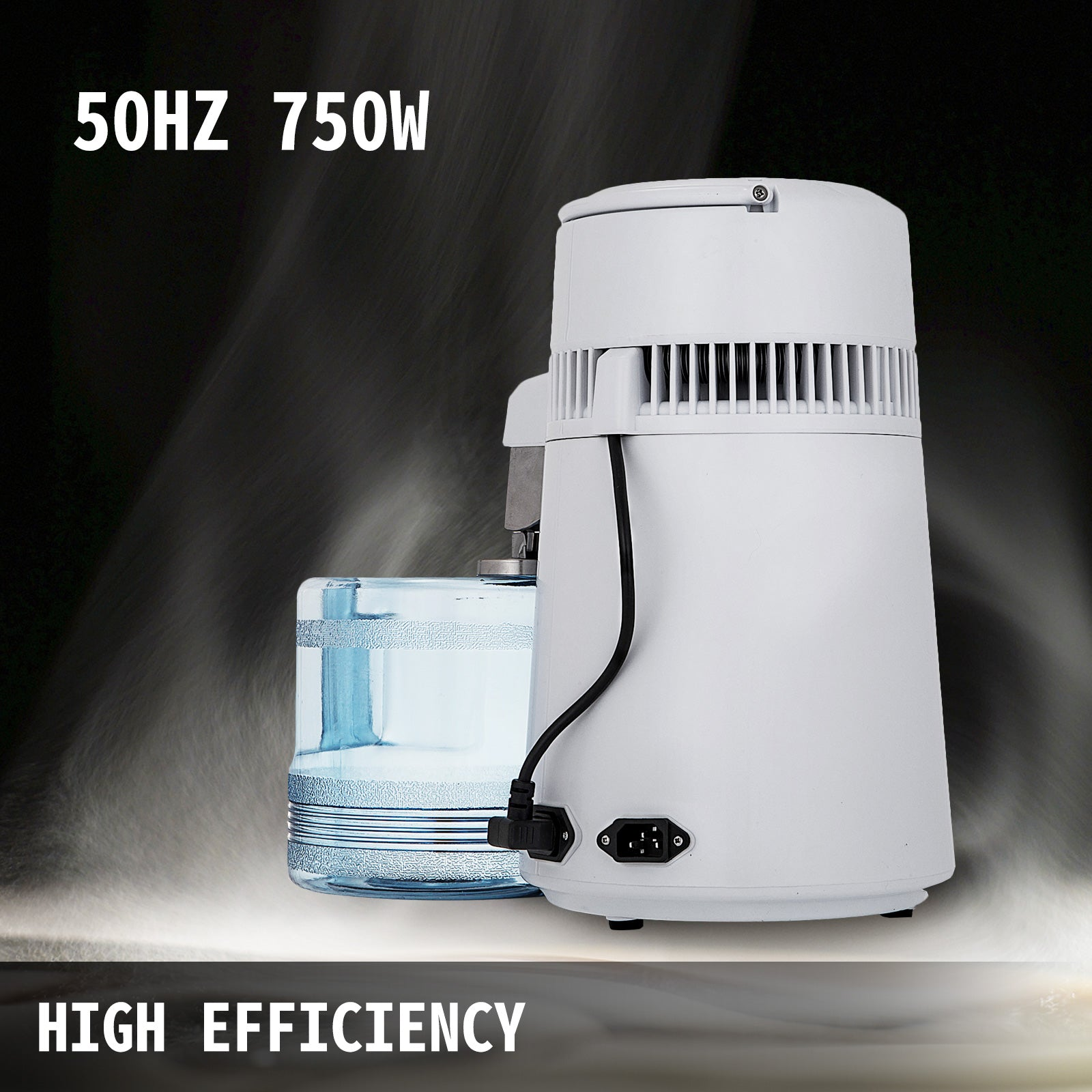 Water Distiller Purifier 4l Stainless Steel Internal Dental 1l/h Brand