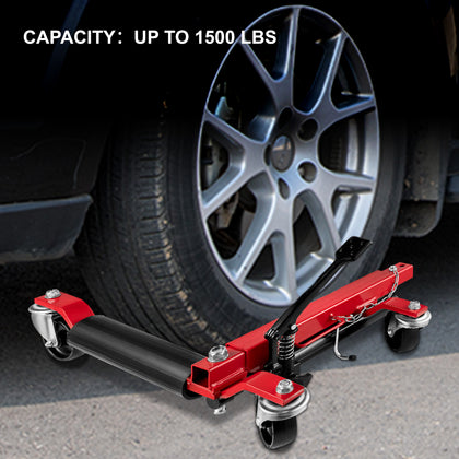 Vevor Wheel Dolly Car Dolly 1 Pcs Car Jack Dolly 1500 Lbs Tire Skate For Cars