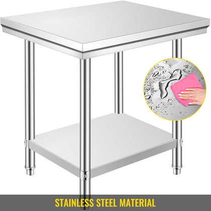 Stainless Steel Work Bench Table 24