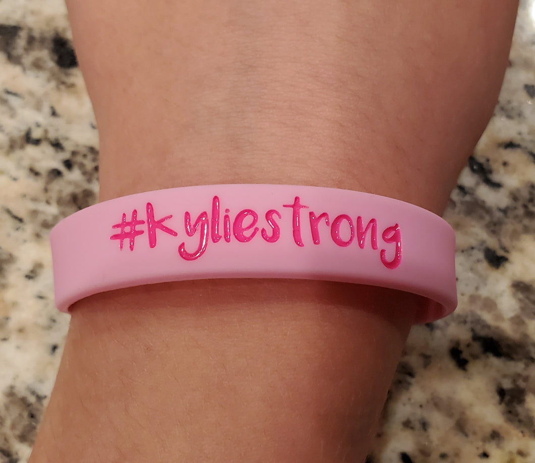 Kylie youth wrist bands