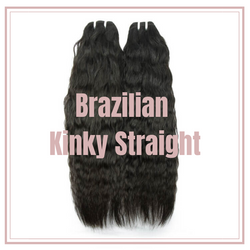 Brazilian Kinky Straight Bundles - Babie Hair Brazilian Hair Virgin Hair Bundle Hair Virgin Fantasy