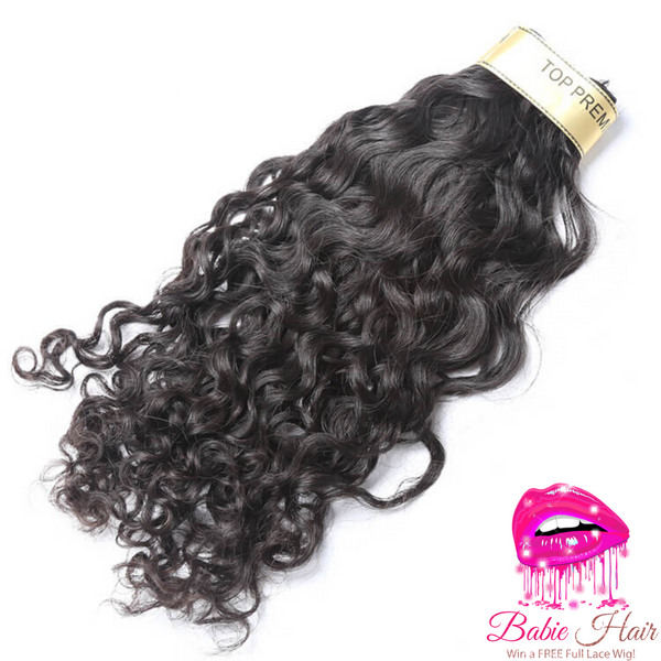 Peruvian Water Wave Bundles - Babie Hair Brazilian Hair Virgin Hair Bundle Hair Virgin Fantasy