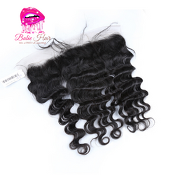 Peruvian Loose Deep Wave Frontal - Babie Hair Brazilian Hair Virgin Hair Bundle Hair Virgin Fantasy
