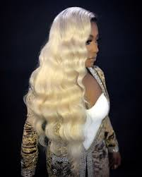 Blonde Body Wave Full Lace Wig - Babie Hair Brazilian Hair Virgin Hair Bundle Hair Virgin Fantasy