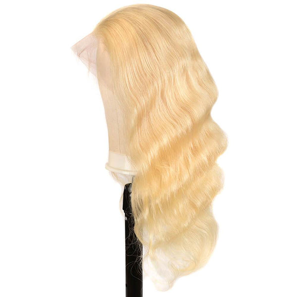 Blonde Body Wave Lace Front Wig - Babie Hair Brazilian Hair Virgin Hair Bundle Hair Virgin Fantasy
