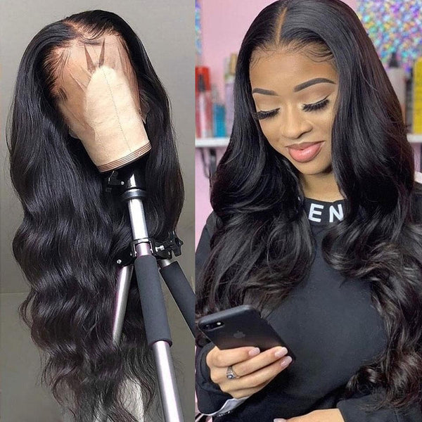 Brazilian Body Wave Lace Front Wig - Babie Hair Brazilian Hair Virgin Hair Bundle Hair Virgin Fantasy