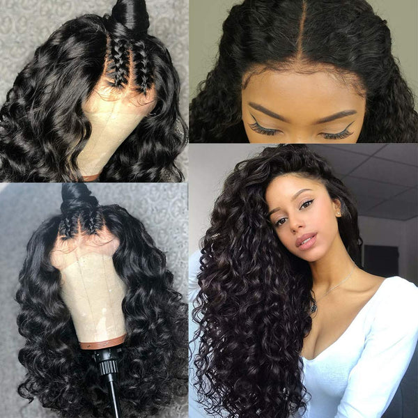 Brazilian Loose Wave Full Lace Wig - Babie Hair Brazilian Hair Virgin Hair Bundle Hair Virgin Fantasy