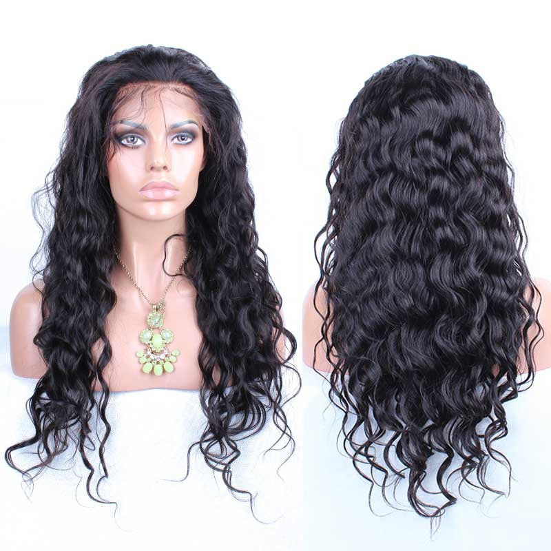 Brazilian Loose Wave Lace Front Wig - Babie Hair Brazilian Hair Virgin Hair Bundle Hair Virgin Fantasy