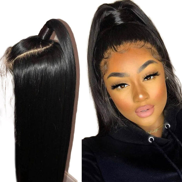 Brazilian Straight Full Lace Wig - Babie Hair Brazilian Hair Virgin Hair Bundle Hair Virgin Fantasy