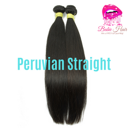 Peruvian Straight Bundles - Babie Hair Brazilian Hair Virgin Hair Bundle Hair Virgin Fantasy