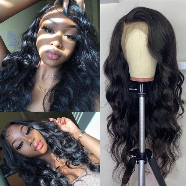 Peruvian Body Wave Full Lace Wig - Babie Hair Brazilian Hair Virgin Hair Bundle Hair Virgin Fantasy