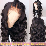 Peruvian Body Wave Lace Front Wig - Babie Hair Brazilian Hair Virgin Hair Bundle Hair Virgin Fantasy