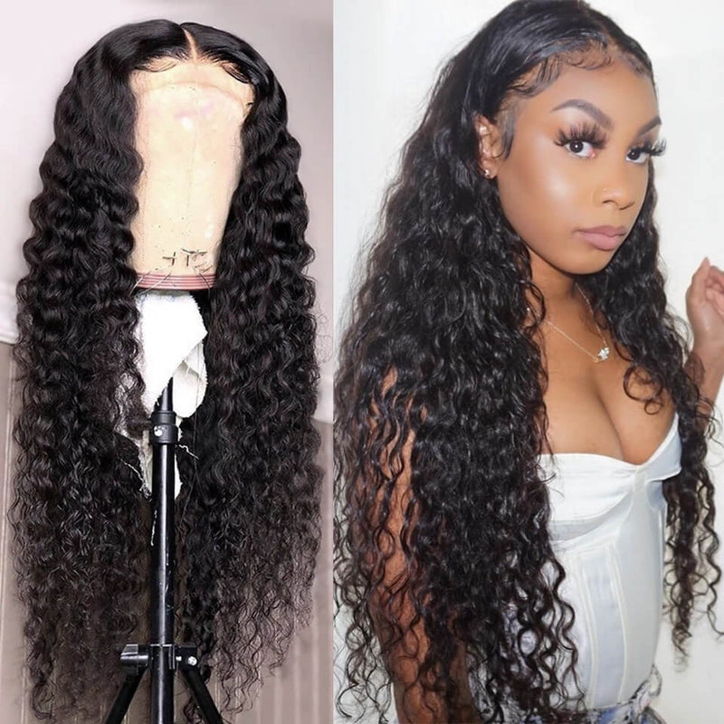 Peruvian Loose Deep Wave Lace Front Wig - Babie Hair Brazilian Hair Virgin Hair Bundle Hair Virgin Fantasy