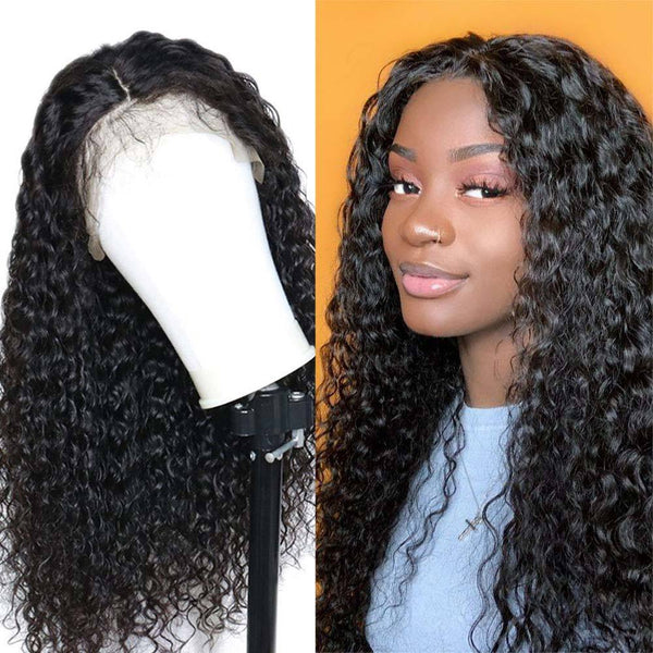 Peruvian Water Wave Full Lace Wig - Babie Hair Brazilian Hair Virgin Hair Bundle Hair Virgin Fantasy