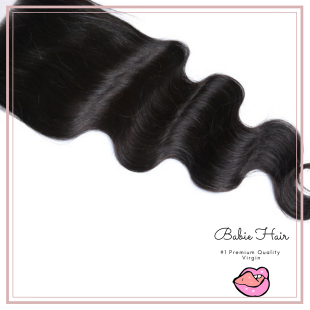 Brazilian Body Wave Lace Closure - Babie Hair Brazilian Hair Virgin Hair Bundle Hair Virgin Fantasy