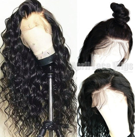Peruvian Loose Wave Lace Front Wig - Babie Hair Brazilian Hair Virgin Hair Bundle Hair Virgin Fantasy