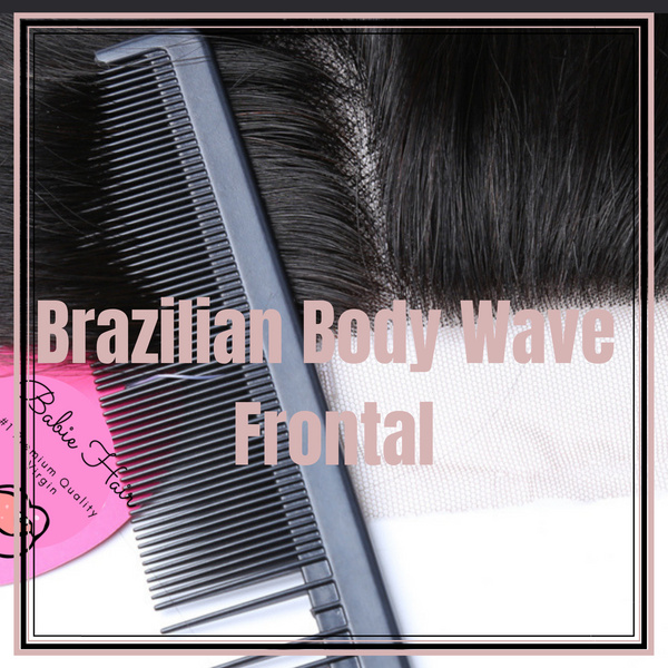 Brazilian Body Wave Frontal - Babie Hair Brazilian Hair Virgin Hair Bundle Hair Virgin Fantasy