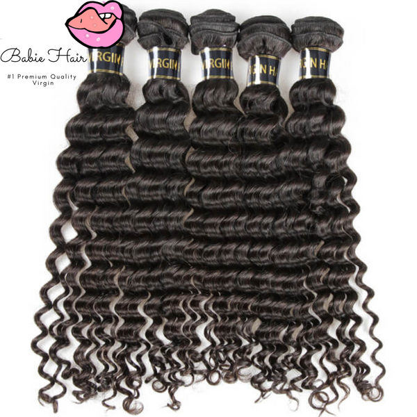Brazilian Deep Wave Bundles - Babie Hair Brazilian Hair Virgin Hair Bundle Hair Virgin Fantasy