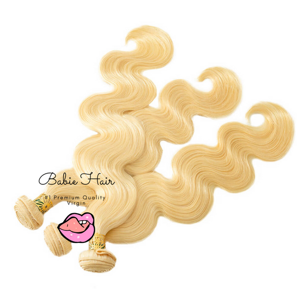 Blonde Body Wave Bundles - Babie Hair Brazilian Hair Virgin Hair Bundle Hair Virgin Fantasy