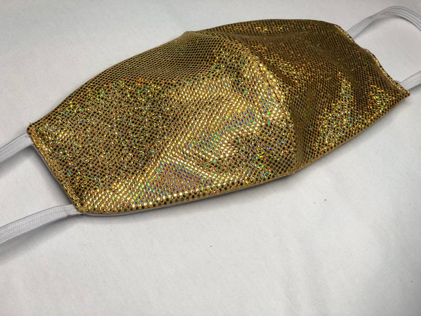 Glitter & Gold Face Mask - Babie Hair Brazilian Hair Virgin Hair Bundle Hair Virgin Fantasy