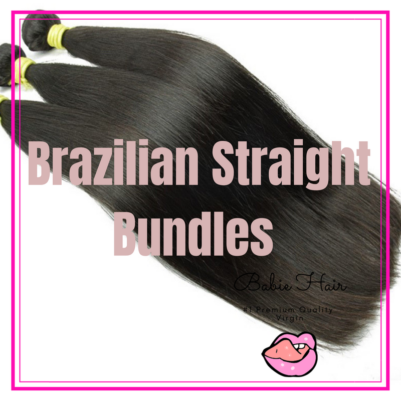 Brazilian Straight Bundles - Babie Hair Brazilian Hair Virgin Hair Bundle Hair Virgin Fantasy