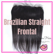Brazilian Straight Lace Frontal - Babie Hair Brazilian Hair Virgin Hair Bundle Hair Virgin Fantasy
