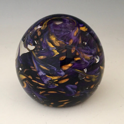 Purple Gold Swirl