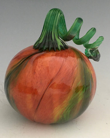 Orange Green Gourd