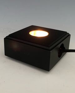 Square Light Base: Black