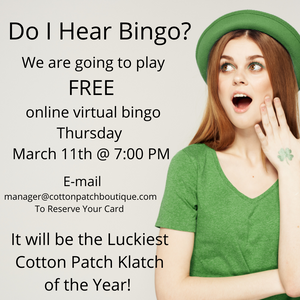 Cotton Patch Boutique Bingo Night