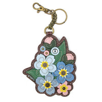 Forget Me Not Coin Purse, Bag Charm, Key Chain