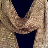 Gold Sparkle Scarf