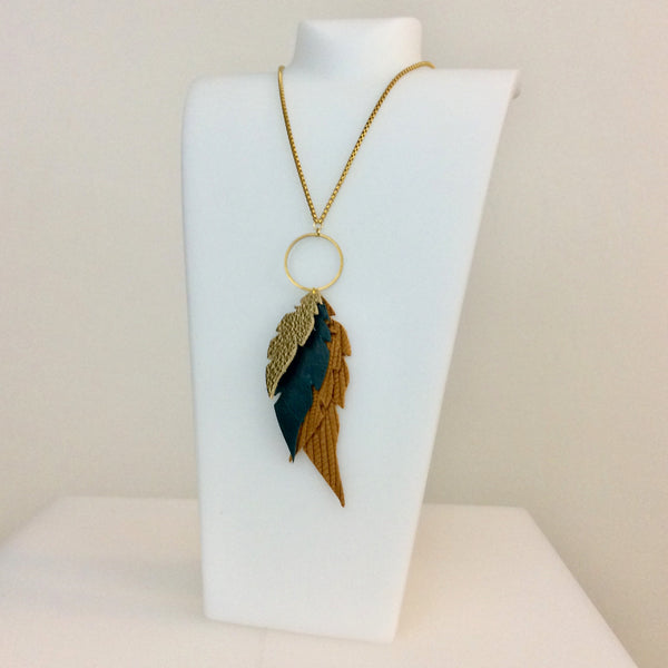 Desert Feather Necklace